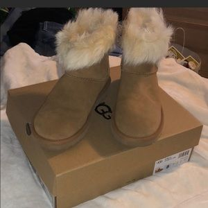New Ugg Milla boots.